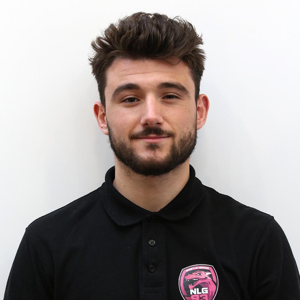 Baptiste MONNIER, chargé de communication et de marketing du Noisy-le-Grand Handball