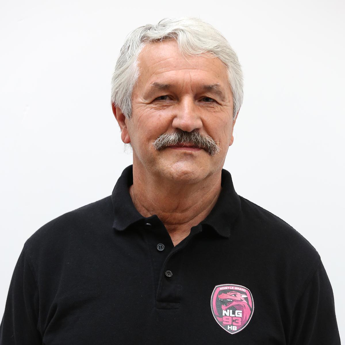 René Paul Dessertenes , Directeur Technique du pôle Elite et entraîneur adjoint du Noisy-le-Grand Handball