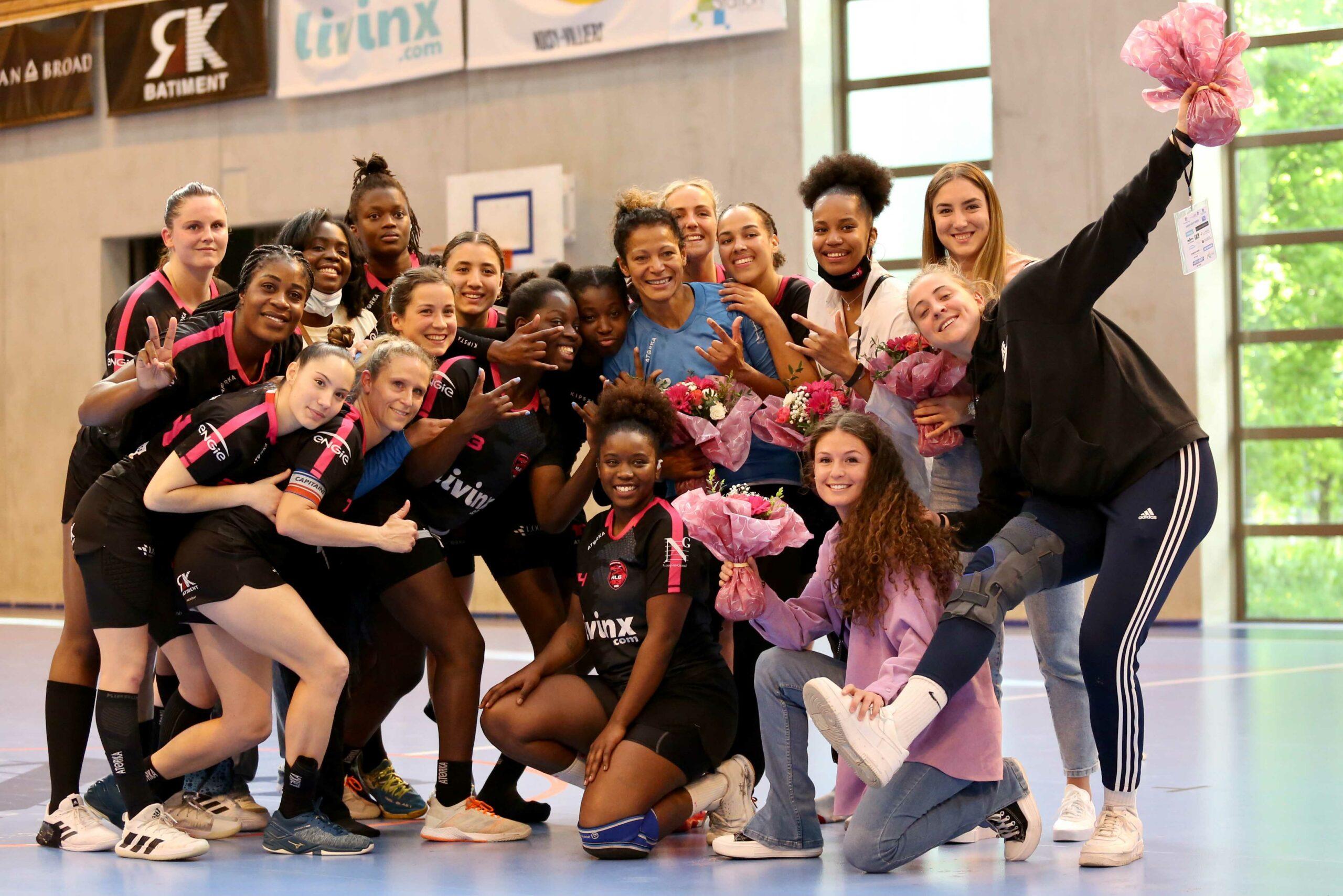 L'équipe du Noisy-le-Grand Handball de la saison 2020-2021