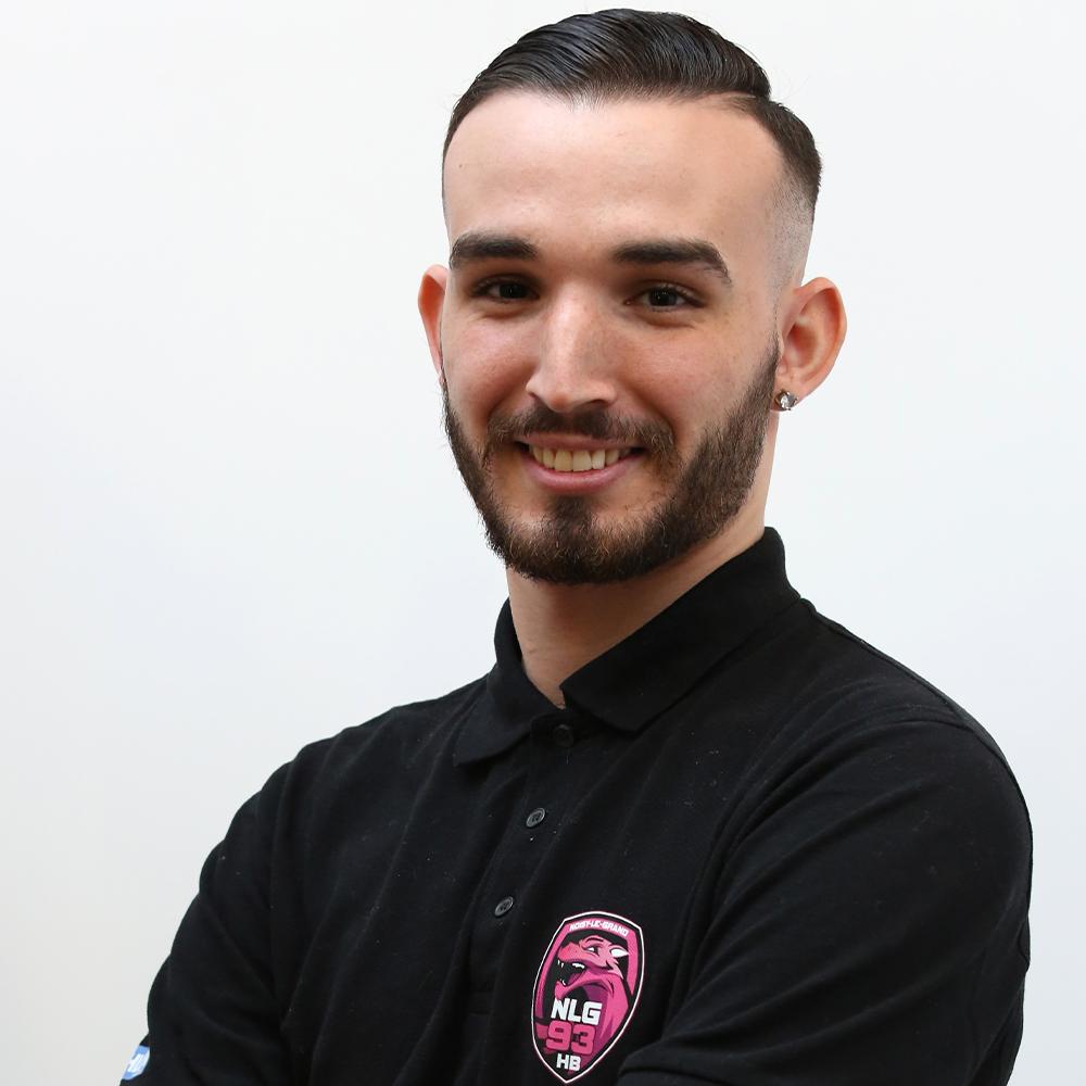 Mélissa GERMAIN , chargé de projet et entraîneur des -15, Garçons du Noisy-le-Grand Handball